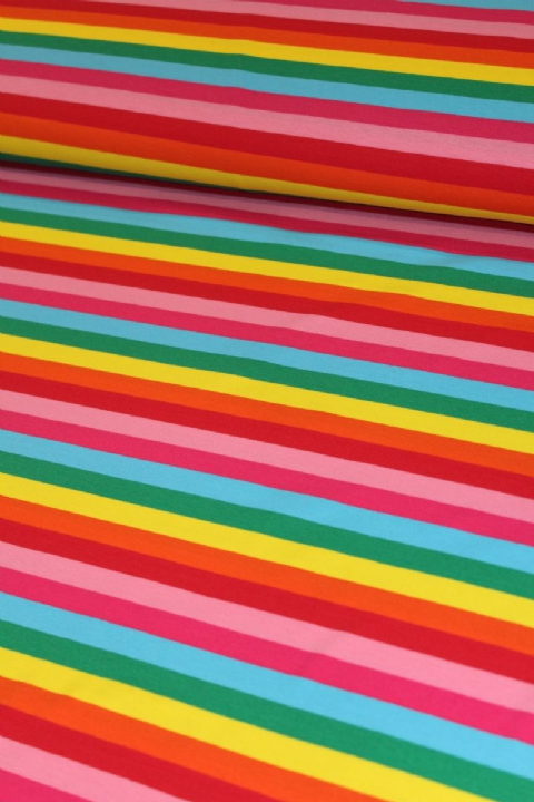 Rainbow Stripes - Bluebelle